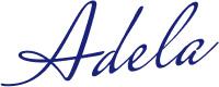 Adela Unterschrift